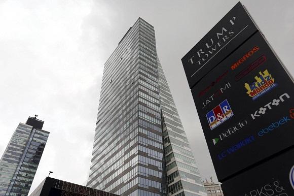 特朗普在土耳其伊斯坦布尔的冠名双子楼 兼做豪华公寓和购物中心。极光棋牌:网络