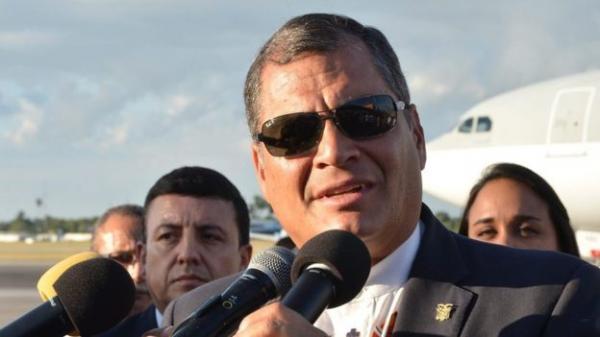 厄瓜多尔总统拉斐尔・科雷亚已宣布莫罗纳-圣地亚哥省进入为期30天的紧急状态
