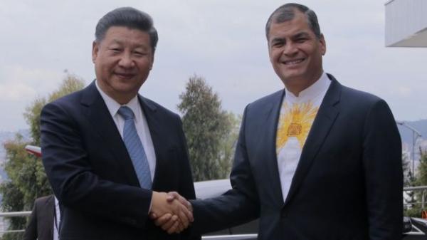 国家主席习近平上个月曾访问厄瓜多尔,正式开通了一座中国建成的水电大坝