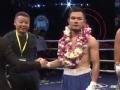 WBA世界拳王争霸赛 中国梁安笔强势战胜泰选手