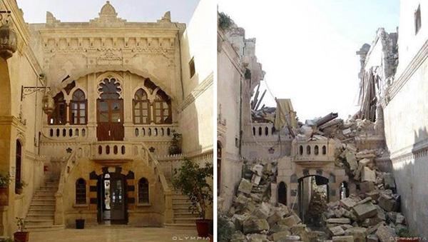 阿勒颇的战前与战后
