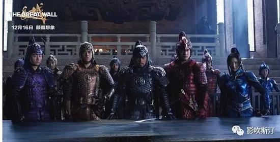 12月16日张艺谋《长城》公映,随后在网上掀起一场撕X大战