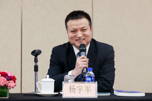 国防部新闻发言人杨宇军发言