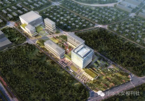 建设中的北京银行科技研发中心