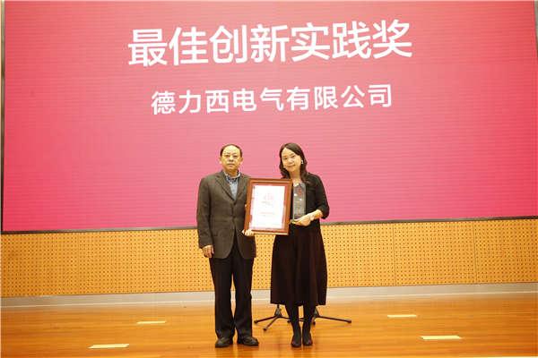 中国文联原党组成员、副主席夏潮为获奖企业代表颁奖.jpg