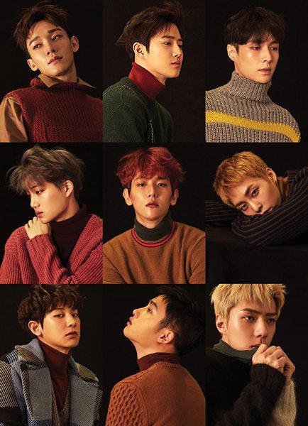 exo冬季特别专辑《for life》登上唱片周榜冠军图片