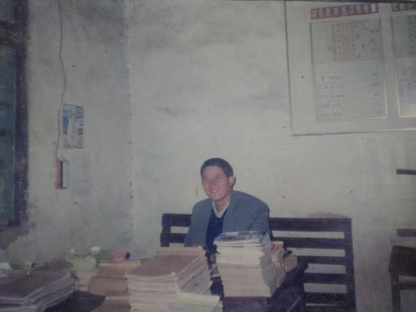 陈崇华在办公室。 受访者供图