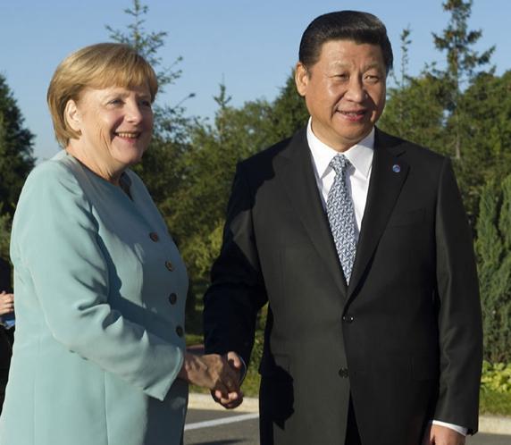 """德国总理默克尔也曾为中挪双方""""牵线搭桥"""""""