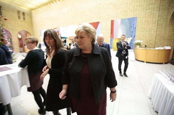中挪关系恢复正常化之后,挪威首相索尔贝格的访华计划提上了日程