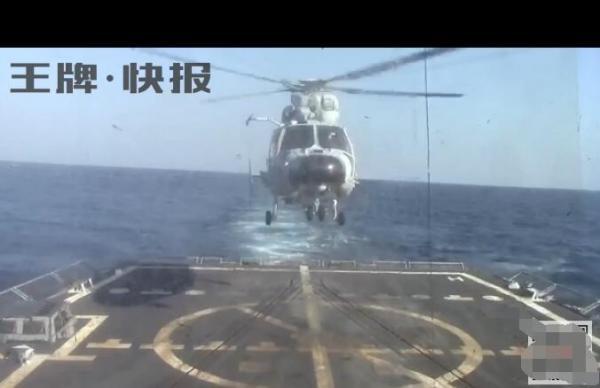 """网络消息称""""辽宁舰编队派直升机驱逐潜艇"""" 夸大其词"""
