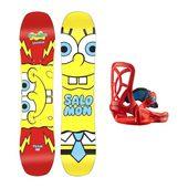 Salomon Spongebob组合滑雪板 送给孩子的礼物