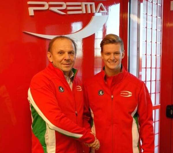 米克-舒马赫签约下赛季征战欧洲F3的合同