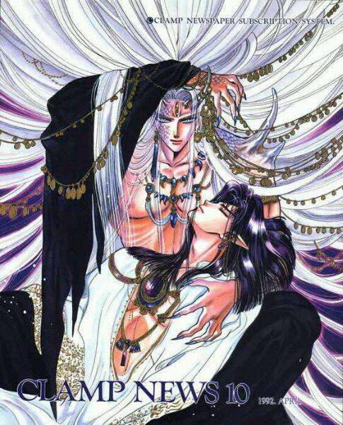 日本漫画《圣传》中的帝释天与阿修罗王