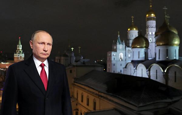 俄罗斯总统普京发表了一年一度的新年贺词。