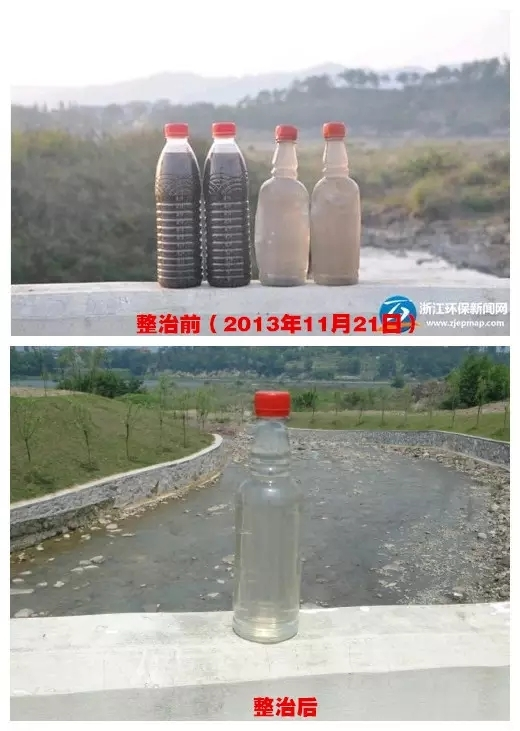 看似洁净的水,究竟有无打消劣五类呢?记者疾速采样,送至检测组织检测。