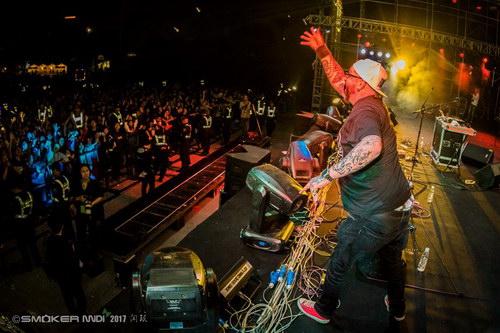 DJ Rokko(AT)。摄影:闫珉