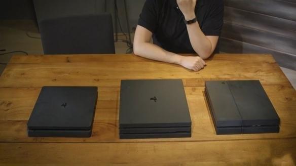 PS4 Pro和PS4 Slim相比差了几台PS4