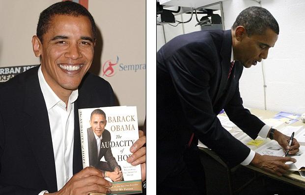 奥巴马离开后收入:4000万美元稿费
