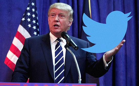一个靠推特治国理政的总统