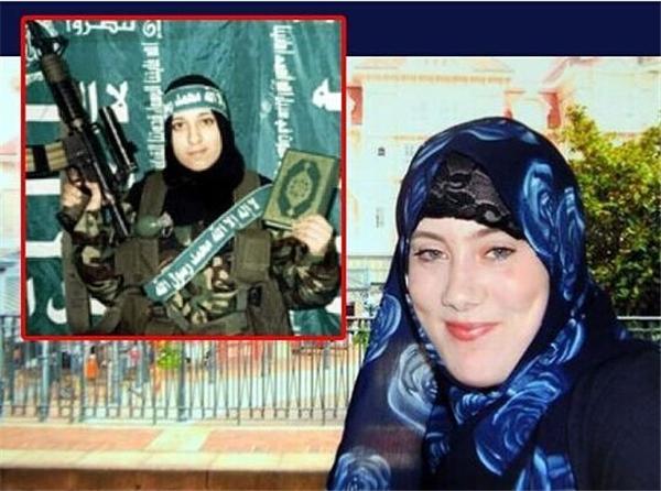 像萨蔓莎这样的被恐怖分子在网络上诱骗过去的西方女孩,有上千个。