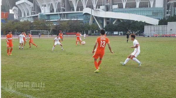 鲁能热身赛四球大胜山东全运队(图片来源:鲁能体育)