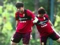 """视频-锻炼考察新人为主 """"中国杯""""国足重在练兵"""