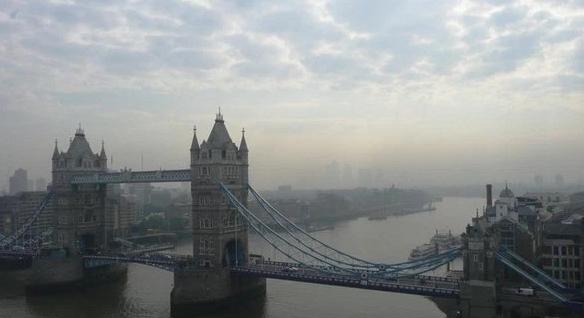 雾霾下的伦敦