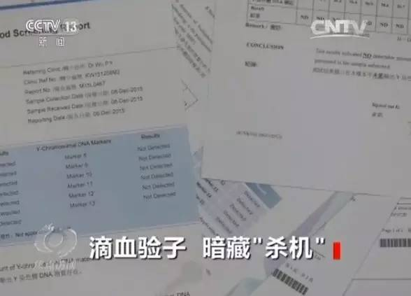 一名当事人小周表示,去香港很贵,自己条件也不是很好,舍不得去,就在乐清县红桥镇抽血,血样带到香港去化验。