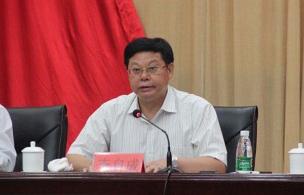怀化市原副市长李自成