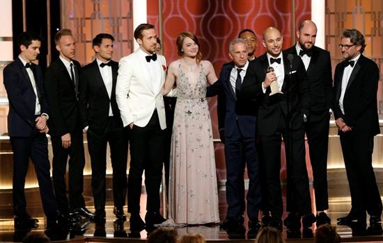《爱乐之城》拿下七项大奖成最大赢家