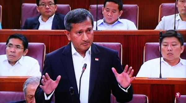 新加坡外交部长维文/来自联合早报