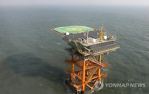 苏岩礁邻近韩国海洋科学基地