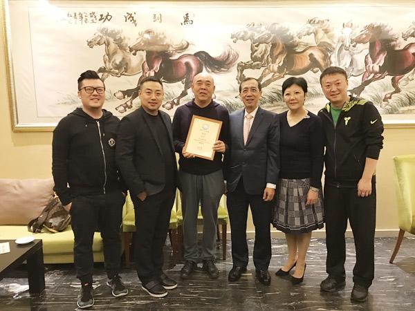 王中琪先生成为内地移居澳门人士中首位在澳乒总任高级职务的人士