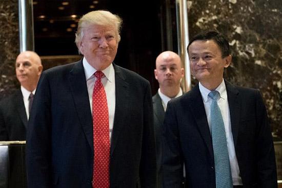 特朗普会见马云 谁在为两人牵线搭桥?