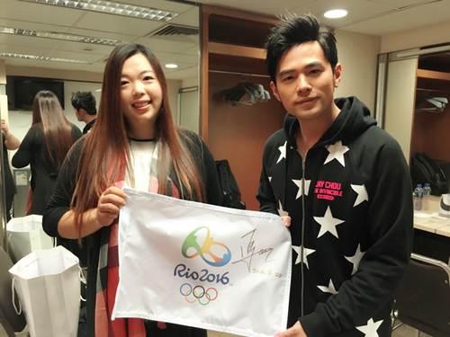 中国一姐冯珊珊化身迷妹 现身周杰伦香港演唱会