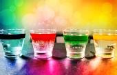 3个步骤做出彩色的雨