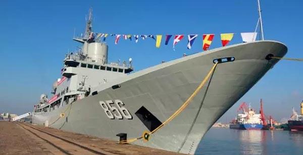 新型电子侦察船开阳星船入列