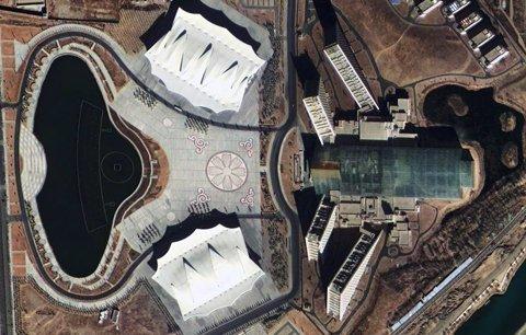 图为西藏自治区会展中心。中国航天科技集团公司提供