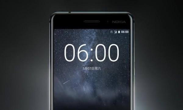诺基亚刚刚发布的Nokia 6