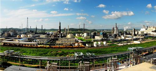 吉林石化厂区