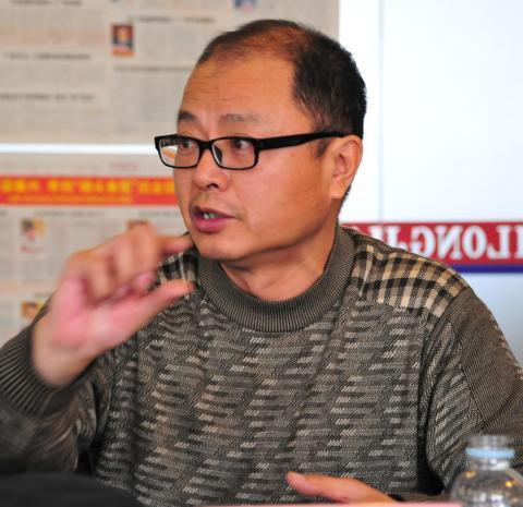 黑龙江省农委种植业管理处副处长王春海。