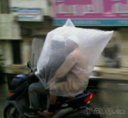 小的可做小雨衣。