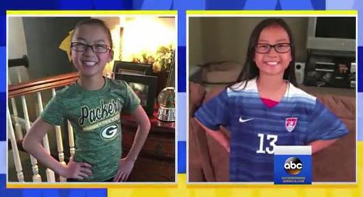 中国双胞胎被两美国家庭收养 10岁初见时抱头痛哭