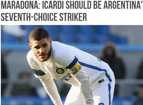 老马:召退役球员也不要二弟 阿根廷需要被净化