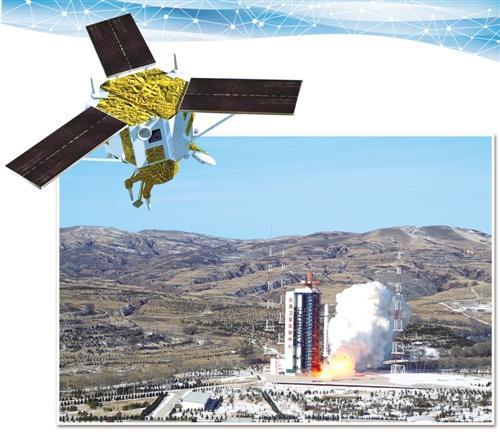 图为2016年12月28日高景一号01组两颗卫星在太原卫星发射中心以一箭双星方式成功发射。(新华社发)
