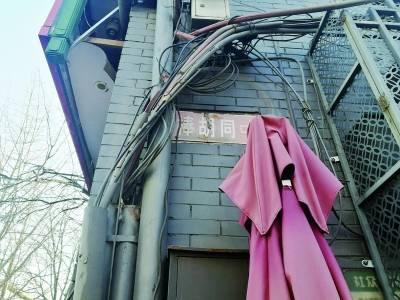 周有光老先生的家位于东城区�拾艉�同一处翻新的楼房里 摄/记者 崔毅飞