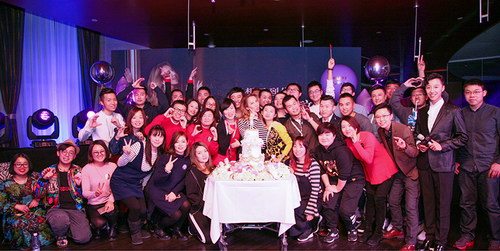 李玟参与粉丝为其举办的生日会