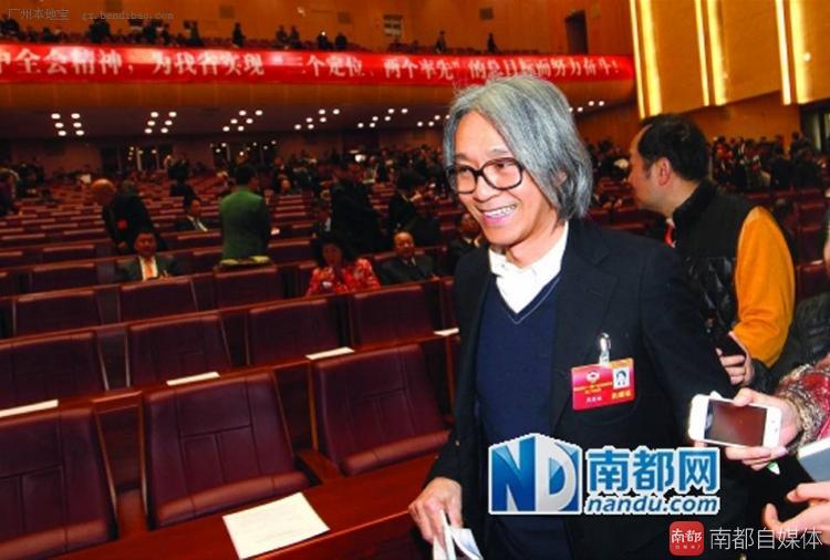 又请假了?周星驰或再缺席广东省政协会议(组图)