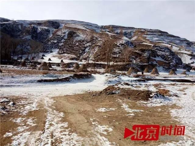 娘娘庙村在丘陵上的耕地 图/北京时间 刘钊