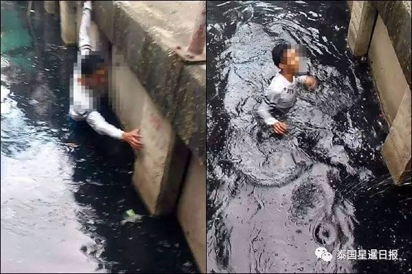 警察到场后,该河道被围得人山人海,但无人救援,落水者趴在河道中,腹部积满了脏水,当场死亡。